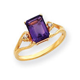 Diamond & Gemstone Ring Mounting 14k Gold Y4749