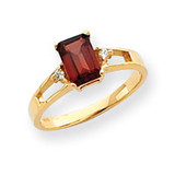 Diamond & Gemstone Ring Mounting 14k Gold Y4757