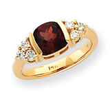 Diamond & Gemstone Ring Mounting 14k Gold Y4775