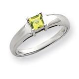 Gemstone Ring Mounting 14k White Gold Y4780