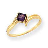 Gemstone Ring Mounting 14k Gold Y4781
