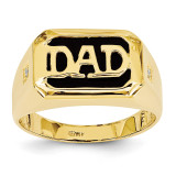 Dad's Ring Mounting 14k Gold Y6129