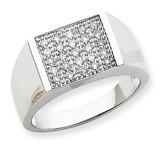 Diamond Ring 14k White Gold Y6569A