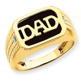 Men's Band Mounting 14k Gold Y7211