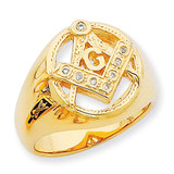 A Dia Ring 14k Gold Y7232A