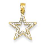 Star Pendant 14k Gold YC1052