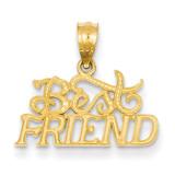 Best Friends Pendant 14k Gold YC482
