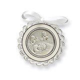 Ivory Crib Medal Sterling Silver MPN: GP5486