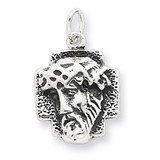 Ecce Homo Medal Antiqued Sterling Silver MPN: QC4380