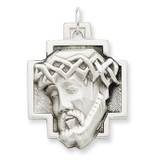 Ecce Homo Medal Sterling Silver MPN: QC448