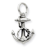 Anchor Charm Sterling Silver MPN: QC4982