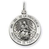 De La Providencia Medal Antiqued Sterling Silver MPN: QC5589