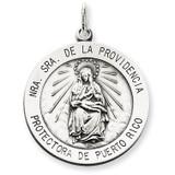 De La Providencia Medal Antiqued Sterling Silver MPN: QC5590