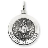 Caridad del Cobre Medal Sterling Silver MPN: QC5593