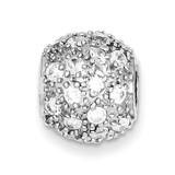 Round Diamond Slide Sterling Silver MPN: QP1115