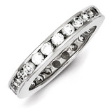 Eternity Band Sterling Silver Diamond MPN: QR1966-7
