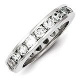 Eternity Band Sterling Silver Diamond MPN: QR1967-8