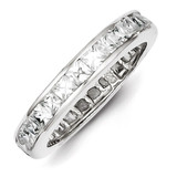 Eternity Band Sterling Silver Diamond MPN: QR1970-8