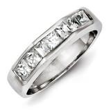 Band Sterling Silver Diamond MPN: QR2086-8