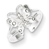 Fancy Toe Ring Sterling Silver Polished MPN: QR2658