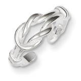 Love Knot Toe Ring Sterling Silver MPN: QR831