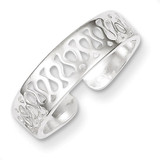 Toe Ring Sterling Silver Solid MPN: QR870