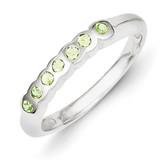 Peridot Ring Sterling Silver MPN: QR1512