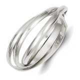 Triple Intertwining Ring Sterling Silver MPN: QR1812