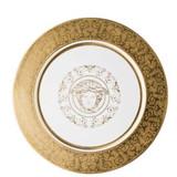 Versace Medusa Gala Gold Dinner Plate 10 1/2 Inch