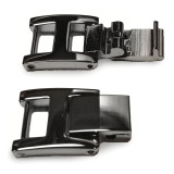 4mm x 14mm H-Clasp Stainless Steel Fold-over Extender 4 Inch FTL155W-4