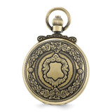 Charles Hubert Antique Gold Finish Shield Pocket Watch XWA3354