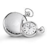 Charles Hubert Stainless Steel Oval Design Pocket Watch XWA4467