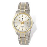 Charles Hubert Two-Tone Titanium 30mm Watch Ladies XWA4865