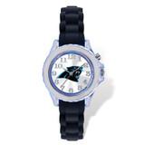 Carolina Panthers Flash Black Watch Strap Youth XWM2229