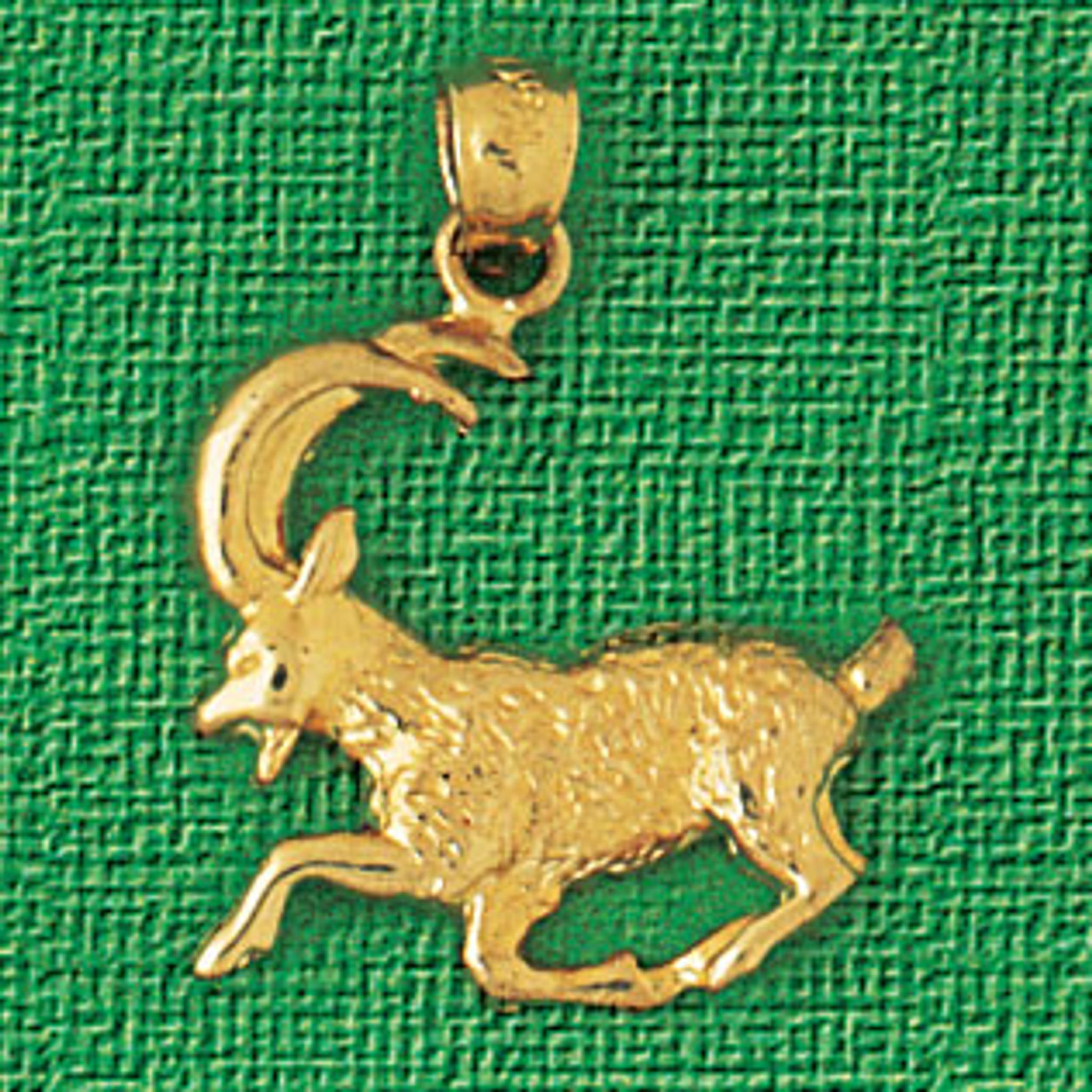 Goat Charm Bracelet