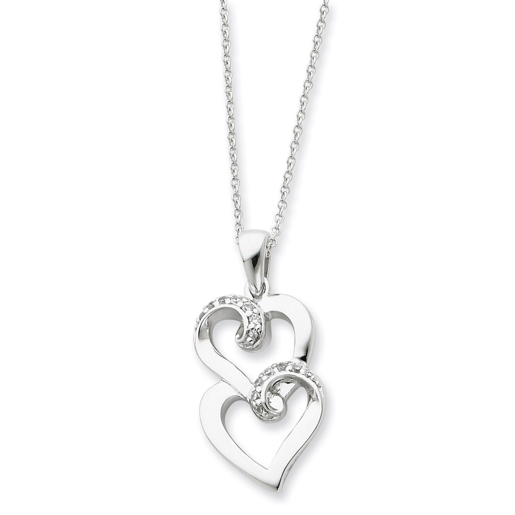 Sentimental Expressions Sterling Silver a Gift for My Sister//for My Bridesmaid 18 Inch Necklace