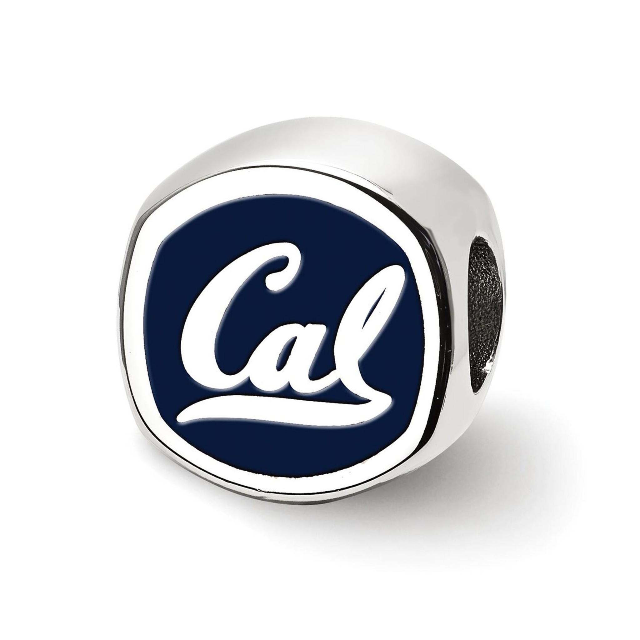 925 Sterling Silver Rhodium-plated Laser-cut Clemson University Football Helmet w//Logo Pendant