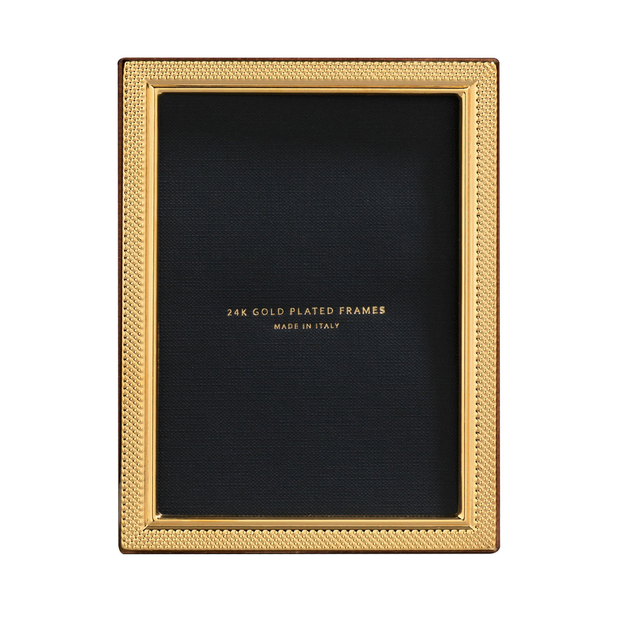 Cunill 24K Gold Plated Droplets 8X10 Picture Frame