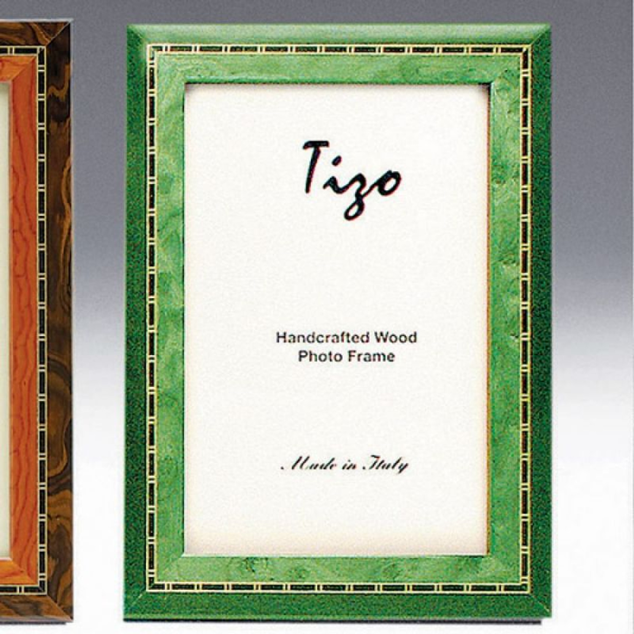 Tizo Persia 8 X 10 Inch Wood Picture Frame Green Homebello