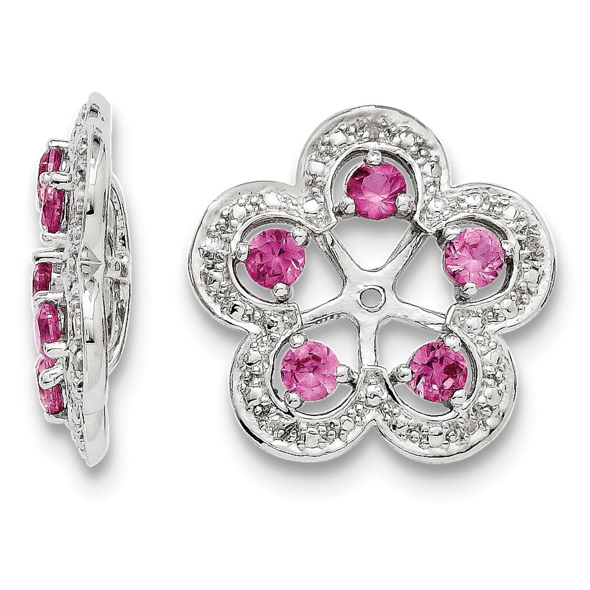Mia Diamonds 925 Sterling Silver LogoArt Indiana University Large Enamel Pendant with Necklace