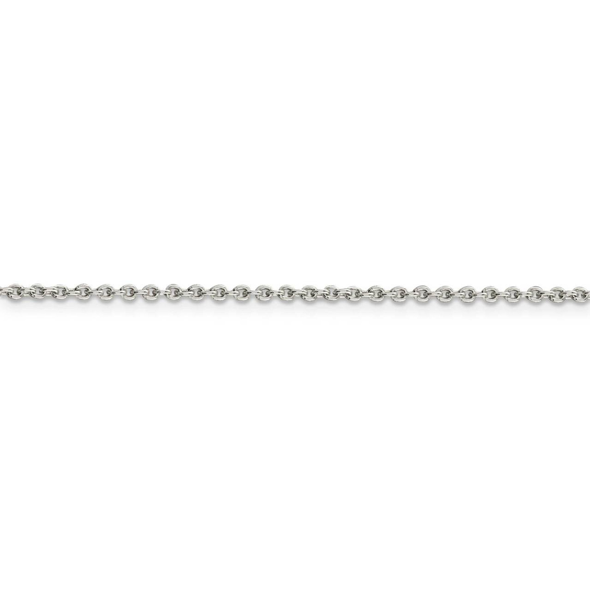 925 Sterling Silver 1.95mm Cable Chain