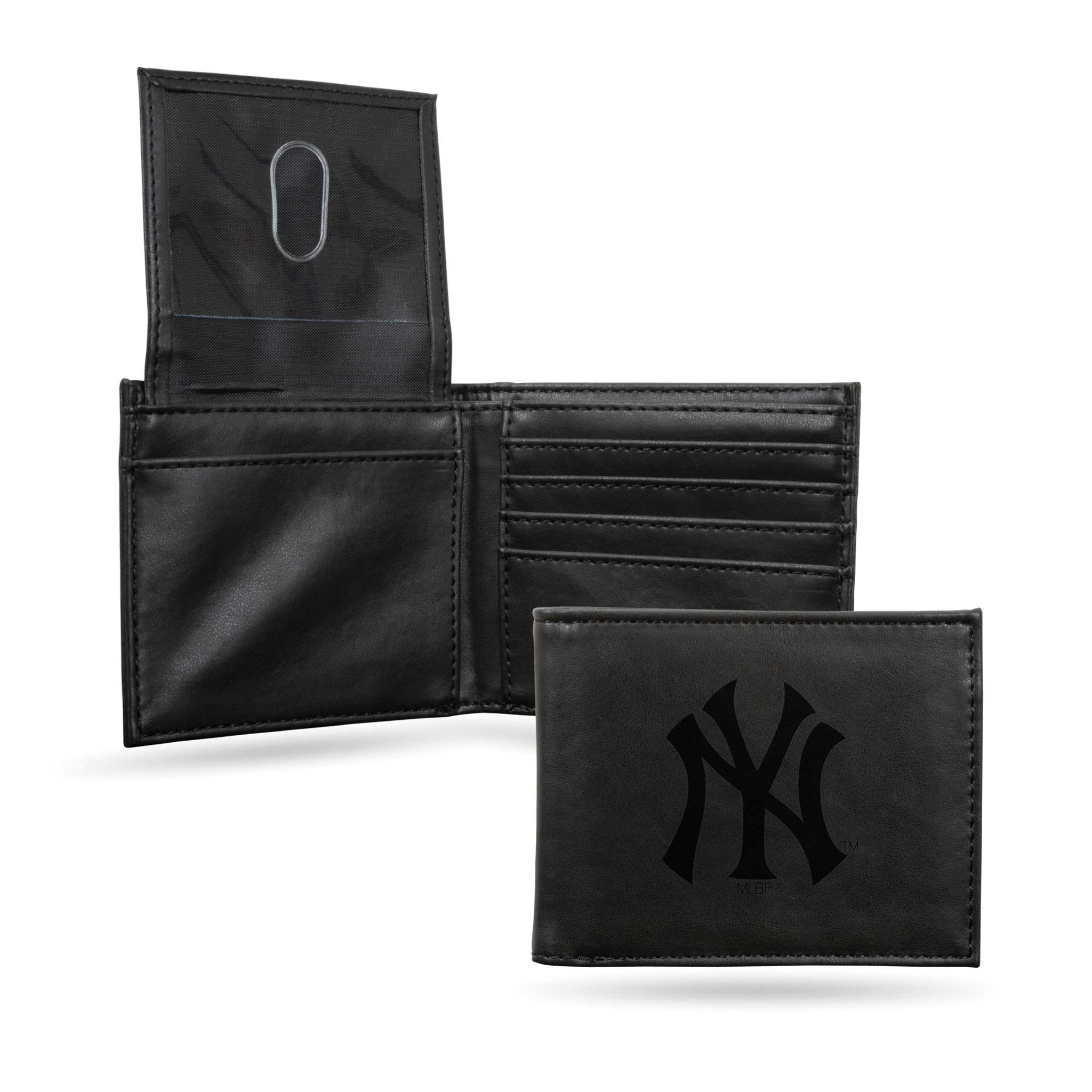 New York Yankees Black Leather Wallet