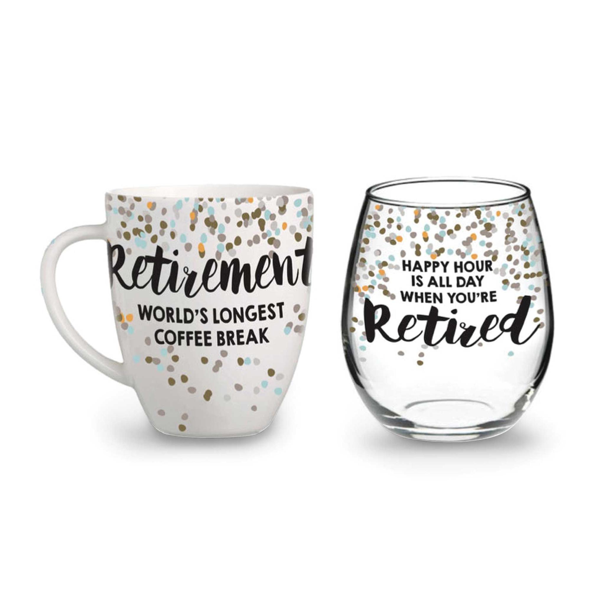 OUR NAME IS MUD Retired Glass Mug Set GM8