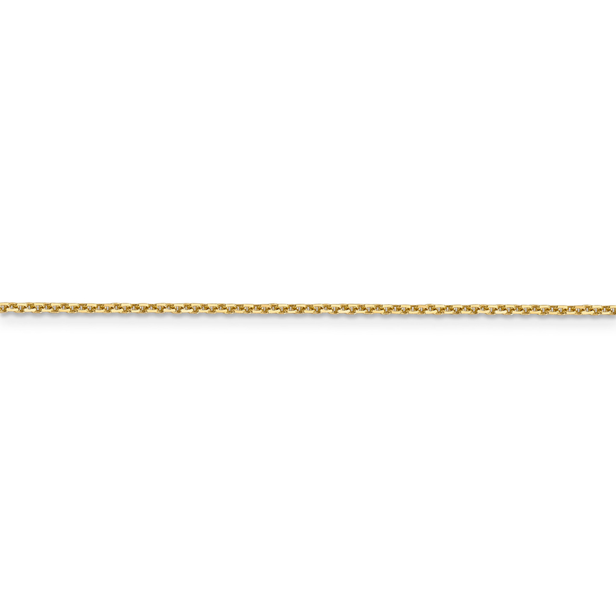 14k 1.40mm Cable Chain New Yellow Gold
