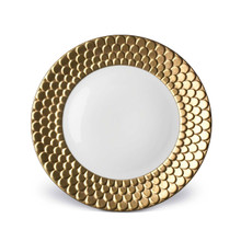 L'Objet Aegean Dinner Plate - Gold MPN: AG5100