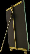 La Paris Florentine 4 x 6 Inch Brass Picture Frame - Vertical