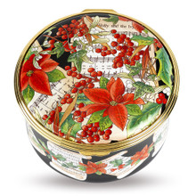 Halcyon Days Holly and Ivy Musical Box ENHOL0151MG EAN: 5060171117094