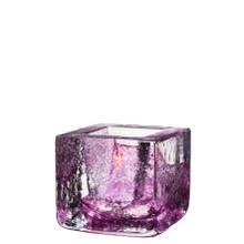 Kosta Boda Brick Votive Purple MPN: 7061034 Designed by Anna Ehrner