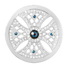 Nikki Lissoni Something Blue Silver-Plated 33mm Coin MPN: C1456SM EAN: 8718819230076