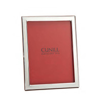 Cunill Barcelona Beaded Flat 5 x 7 Inch Picture Frame - Sterling Silver MPN: 86757